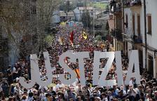 Rebuig massiu a la condemna dels joves d'Altsasu