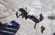 Fallece un esquiador de 59 años en las pistas de Grandvalira