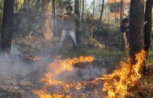 Fuegos descontrolados en Rianxo con más de 850 hectáreas quemadas