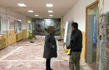 Obres del nou Centre de Serveis per a la gent gran d'Aitona