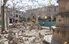 Verdú inicia les obres per reformar la plaça Major i les conclourà al maig