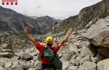 Moren dos excursionistes, un baixant d'una ermita a Tremp i un altre a Benasc
