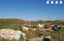 Los Rurales denuncianun vertido ilegal en Térmens