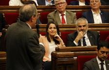 Torra desafia l'oposició a presentar una moció de censura en contra seu