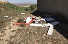 Els Mossos investiguen dos abocaments il·legals a Bell-lloc