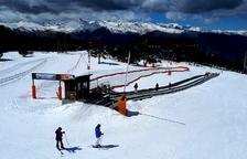 Neu i fred allarguen el bon estat de les pistes