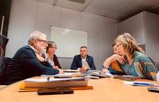 Mur de contenció contra el risc d'inundabilitat a Lleida
