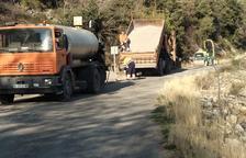 Obras en Sant Esteve en los tramos de vía con más riesgo