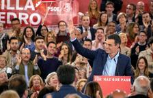 Sánchez acusa els separatistes d'enganyar els ciutadans