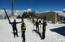 Uns 300 esquiadors en la reobertura de Tuixent