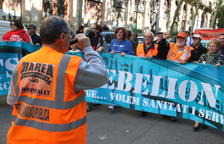 Marea Blanca crida a Barcelona contra la privatització de la salut