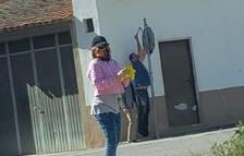 Vigilantes contra los vándalos en Torrelameu