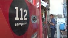 Los bomberos sofocan un incendio en una cocina de Albagés