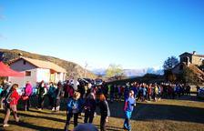 Más de 500 personas en la X Caminada de Les Carenes