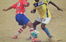 Vibrante partido entre rivales directos