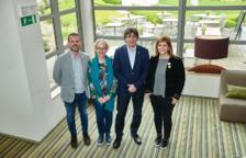 Els candidats de JxCat per Lleida viatgen a Waterloo