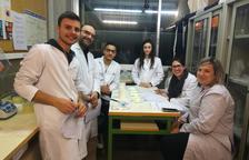 L'INS Guissona celebra una jornada de portes obertes dins de l'empresa bonÀrea Agrupa