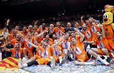 El València Basket, dirigit pel lleidatà Jaume Ponsarnau, conquereix l'Eurocopa