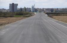 La Linyola-Bellcaire obrirà el dia 30 amb carril bici amb llums