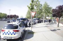 Ampli dispositiu policial a Lleida per detenir un lladre que va robar 5 euros