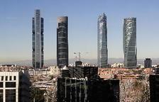 Amenaça de bomba a la Torre Espacio de Madrid