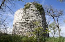 Mejoran la fortificación medieval torre Vilalta de Sant Guim