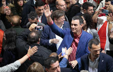 """Pedro Sánchez adverteix contra el """"bloc de la involució"""""""