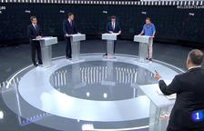 Així va anar el primer debat, que remarca les diferències dels dos blocs i les possibilitats de pactes