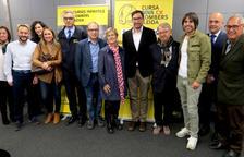 L'acte de presentació de la Cursa dels Bombers de Lleida.