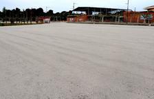 Alpicat mejora el parking de la zona escolar