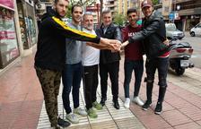 Els jugadors del Lleida Llista mostren il·lusió per revalidar el títol europeu i fan una crida a omplir el pavelló