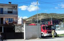 Cuatro personas intoxicadas por un fuego en una casa de Os de Balaguer