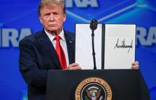 Trump retira el suport dels EUA al Tractat d'Armes impulsat per l'ONU