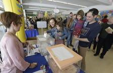 La participació a Lleida a les 18 h ascendeix al 60%, 20 punts més