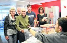 En Lleida, tres de cada diez votos fueron a parar a partidos sin escaños