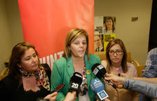 Celebració a la seu de JxCat Lleida