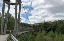 Oliana y Peramola piden más seguridad en el puente que une ambos pueblos