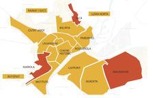 Els resultats de les eleccions generals, per barris de Lleida