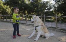 Solsona habilita una zona d'oci per a gossos en tres finques