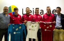 El Lleida.Net Alpicat tanca les quatre primeres renovacions de l'equip