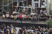 Guitarristes al Parc Científic de Lleida
