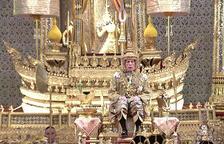 El monarca tailandés Rama X se corona rey