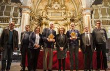 La consellera Vilallonga entrega a Cervera els Premis Recercat 2019
