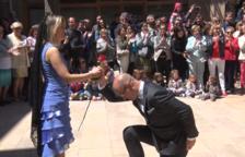 VÍDEO. Els Priors i les Priores de Torà celebren la festa del Roser