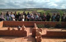 Estudiants i avis, d'excursió a Verdú