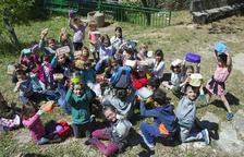 Protesta en Sant Ramon por el comedor de la escuela