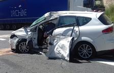 Mor un conductor de 78 anys en un xoc a la carretera N-230 a Benavarri