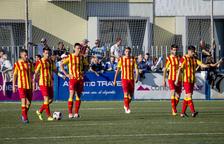 La mitad de la plantilla del Lleida, con contrato el próximo curso