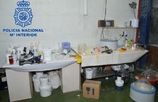 Cuatro años de prisión y 420.000 euros de multa por 'cocinar' speed en Torrefarrera