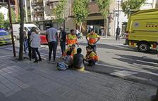 Evacuada al hospital una niña tras un atropello en Cappont